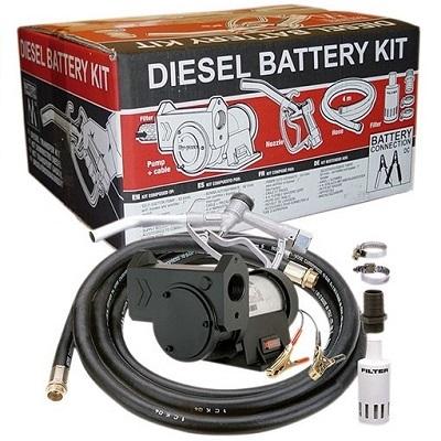 Комплект для дизтоплива Gespasa Diesel Battery Kit - цена, заказать Насосы для перекачки дизельного топлива Gespasa