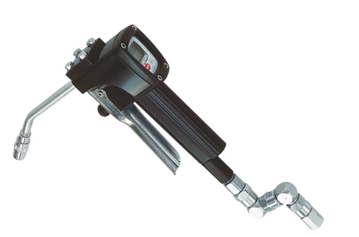 Пистолет для смазки GREASTER с жестким носиком и Z - шарниром - цена, заказать Пистолеты и расходомеры Piusi