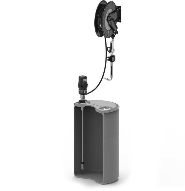 Комплект с насосом 5.5:1 для бочки 200 л и катушкой - цена, заказать Маслораздаточное оборудование Piusi