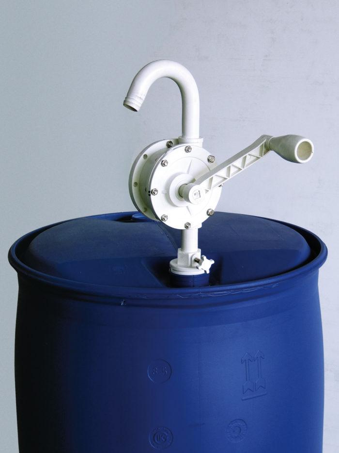 Ручной роторный насос для бочки Производительность: 25л/мин - цена, заказать Ручные насосы Piusi