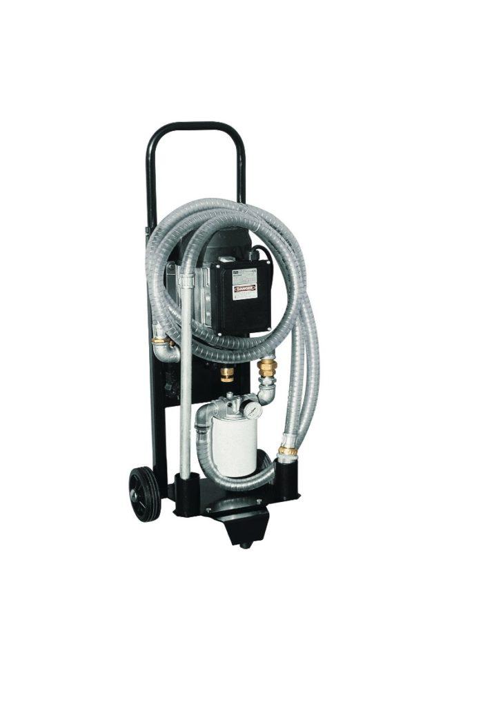 Depuroil 60 - Фильтрующий и перекачивающий блок - цена, заказать Фильтрационные установки Piusi