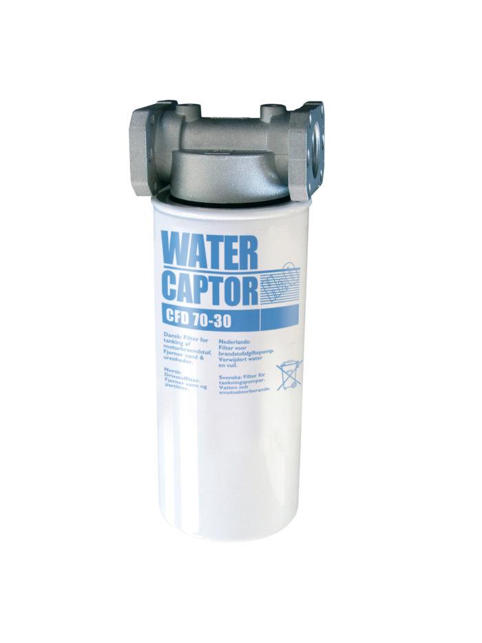 """Водопоглощающий фильтр 70л/мин : 2 катриджа, крепление для фильтра 1"""" - цена, заказать Фильтры Piusi"""