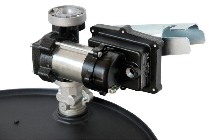 """Kit Drum EX50 12V ATEX - Комплект для бензина: э/насос, держатель пист., коннектор 2"""", 50 л/мин - цена, заказать Электрические насосы Piusi"""
