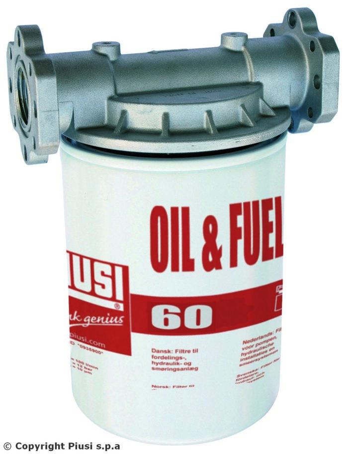 Фильтр 60л/мин тонкой очистки от механических примесей 10 микрон - цена, заказать Фильтры Piusi