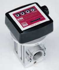K700M ver. B - 4-х разрядный механический счетчик отпуска ДТ, 40-220 л/мин - цена, заказать Счетчики Piusi