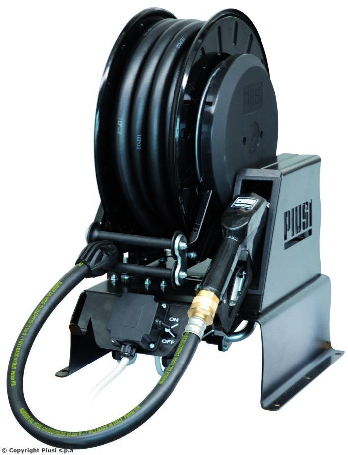 Piusi Pitstop DC - Заправочный блок c барабаном 15 м, 24 В - цена, заказать Топливораздаточные модули Piusi