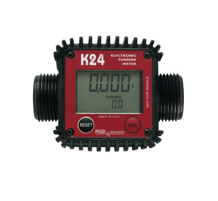 K24 - Электронный счетчик жидкостей - цена, заказать Счетчики Piusi