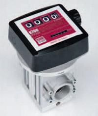 K700M ver. A - 4-х разрядный механический счетчик отпуска ДТ, 40-220 л/мин - цена, заказать Счетчики Piusi