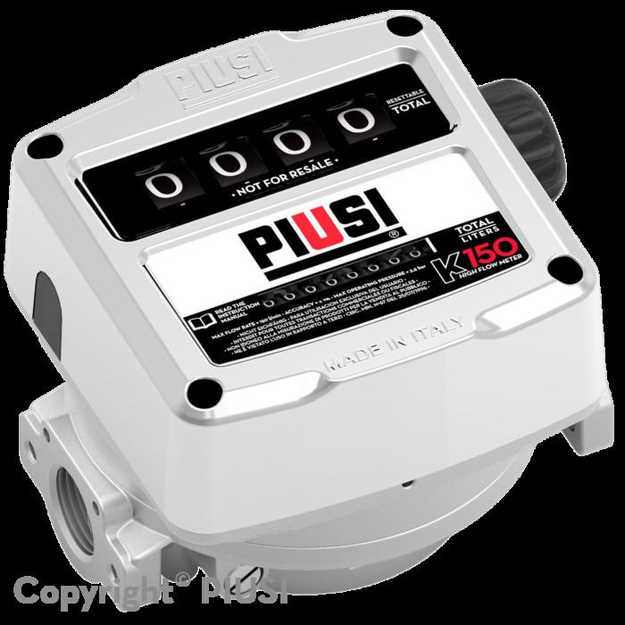 K150 ATEX VER.D - 4-х разрядный механический счетчик для бензина - цена, заказать Счетчики Piusi