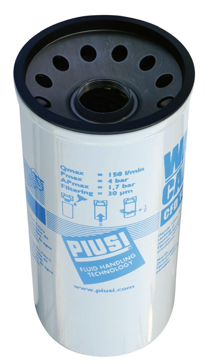 Сменный водопоглощающий картридж 70л/мин для фильтра F00611A00 (второй артикул F00611010) - цена, заказать Фильтры Piusi
