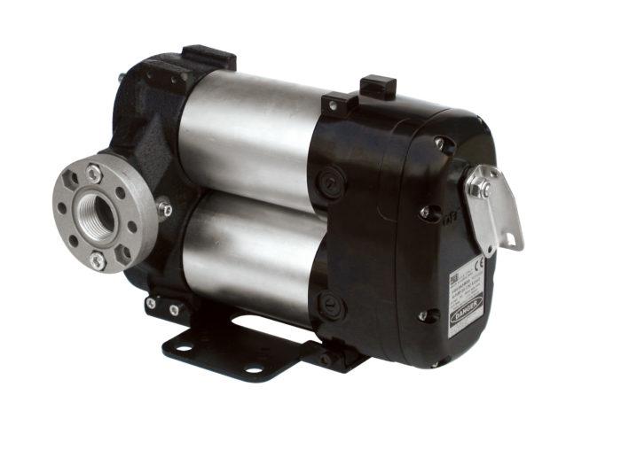 BI-PUMP 12V - Роторный лопастной электронасос для ДТ, без кабеля, с выключателем, 85 л/мин - цена, заказать Электрические насосы Piusi