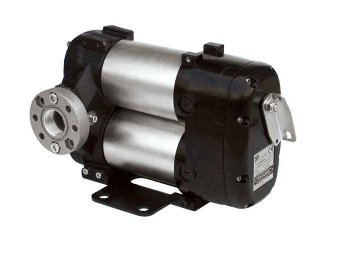 BI-PUMP 24V - Роторный насос с лопатками для дизельного топлива без проводов с функцией вкл/выкл. - цена, заказать Электрические насосы Piusi