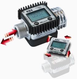 "K24 A M/F 1"" BSP ATEX/IECEx - Электронный расходомер для бензина - цена, заказать Счетчики Piusi"