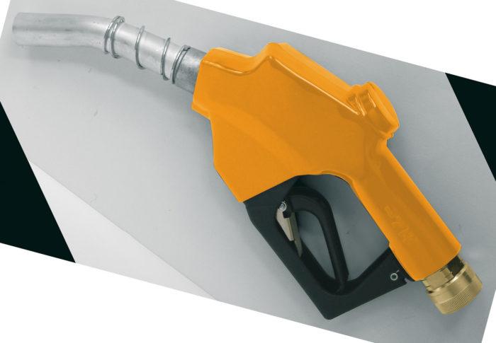 Автоматический пистолет для отпуска БиоДТ (рапсового масла), сопло - 24 мм - цена, заказать Пистолеты и расходомеры Piusi