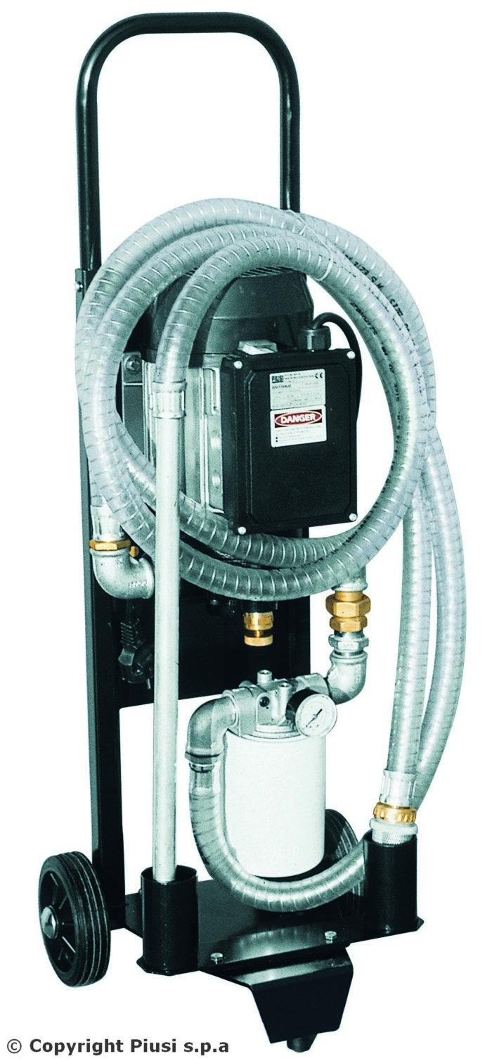 Depuroil - Фильтрующий и перекачивающий блок - цена, заказать Фильтрационные установки Piusi