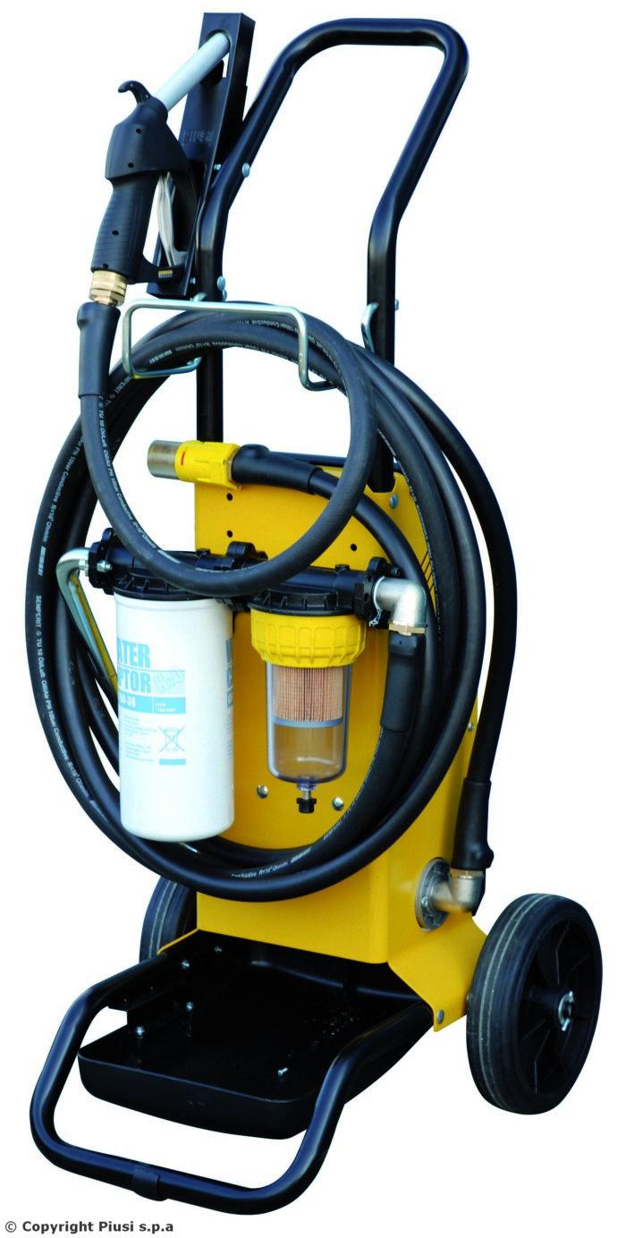Filtroll Diesel - Фильтрующий блок для дизельного топлива - цена, заказать Фильтрационные установки Piusi
