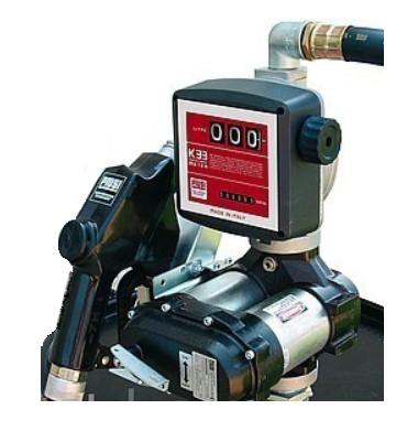 DRUM BI-PUMP 12V K33 - Бочковой модуль для перекачки дизельного топлива - цена, заказать Топливораздаточные модули Piusi