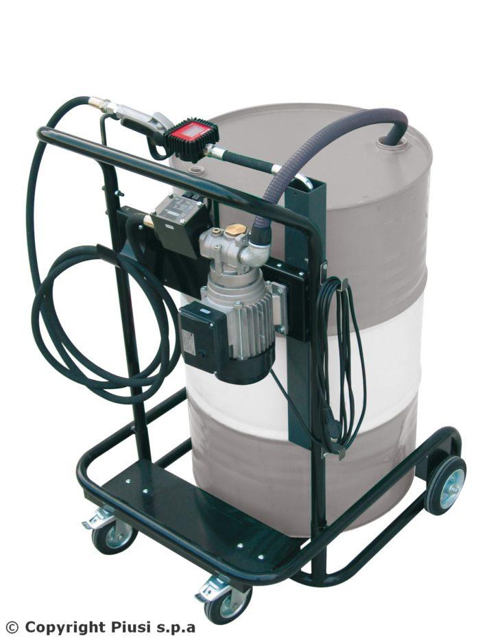 Viscotroll 200/2 AC - K400 - Электрический топливораздаточный комплекс с расходомером - цена, заказать Маслораздаточное оборудование Piusi