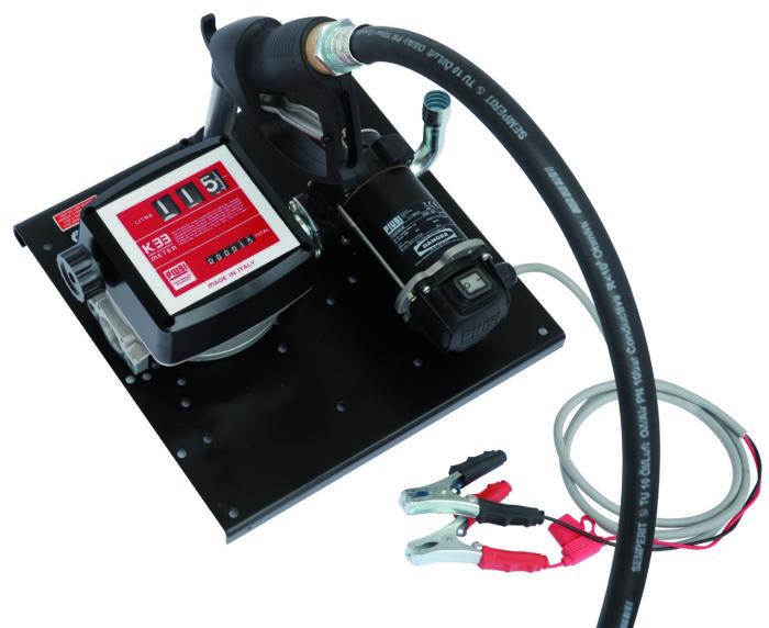 ST ByPass 3000/12V K33 A60 - Перекачивающая станция для дизельного топлива с расходомером и раздаточ - цена, заказать Топливораздаточные модули Piusi