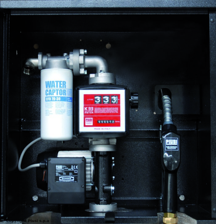 ST BOX E120 Panther Basic - Перекачивающая станция для дизельного топлива - цена, заказать Топливораздаточные модули Piusi