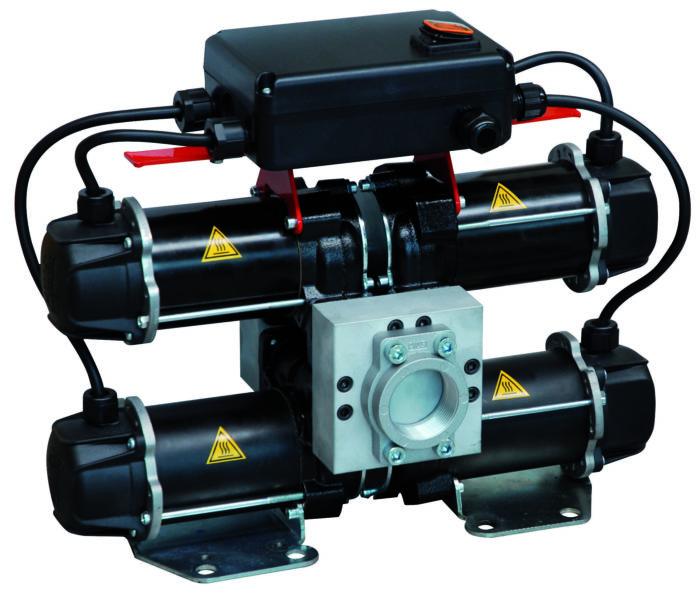 ST 200 DC Переносной портативный высокопроизводительный блок подачи дизельного топлива - цена, заказать Электрические насосы Piusi