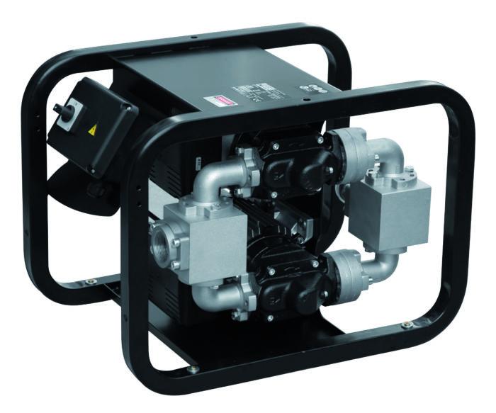 ST200 Basic Электрический насос для дизельного топлива диспенсер - переносной портативный блок подач - цена, заказать Электрические насосы Piusi