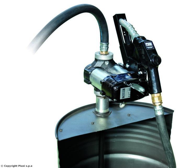 DRUM BI-Pump 24 V. A120 - Бочковой модуль для перекачки дизельного топлива - цена, заказать Топливораздаточные модули Piusi