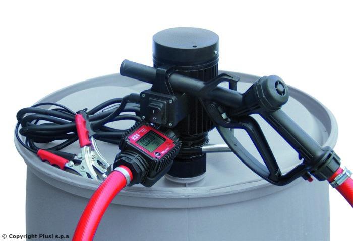 Pico 24 K24 M - Бочковой комплект для раздачи дизельного топлива, антифриза, воды. - цена, заказать Топливораздаточные модули Piusi