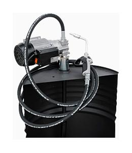 DRUM Viscomat 200/2 M 230V/50-60HZ - Бочковой комплект для масла: элекронасос, мех. пист., 9 л/мин - цена, заказать Маслораздаточное оборудование Piusi