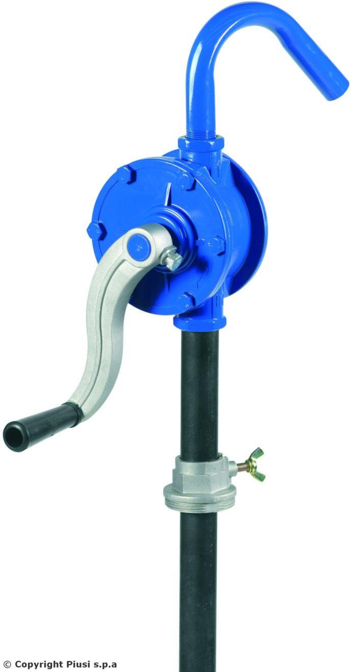 Алюминиевый роторный насос для бензина, ДТ, масла, керосина - цена, заказать Ручные насосы Piusi