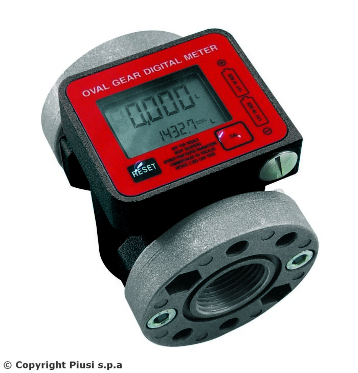 K600/3 METER NPTF DIESEL - Электронный счетчик отпуска топлива - цена, заказать Счетчики Piusi